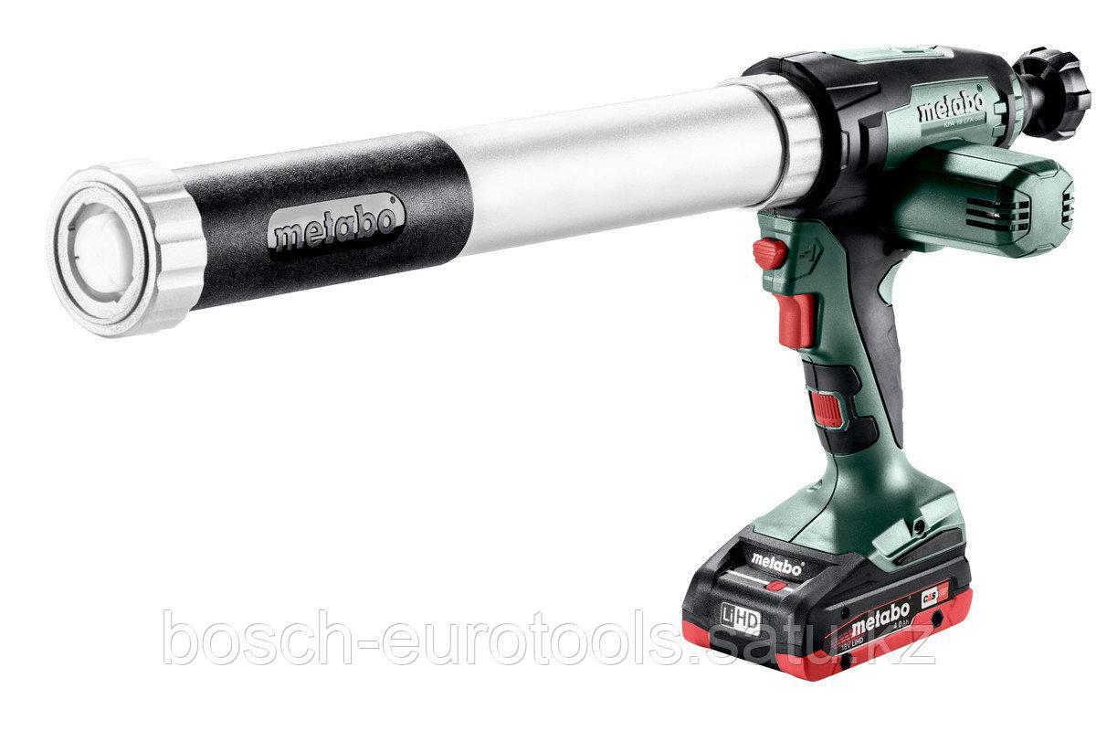 Metabo KPA 18 LTX 600 Аккумуляторный пистолет для герметика