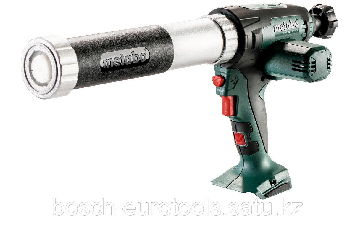 Metabo KPA 18 LTX 400 Аккумуляторный пистолет для герметика