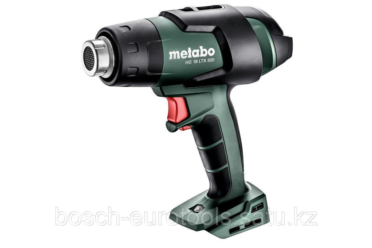 Metabo HG 18 LTX 500 Аккумуляторный технический фен