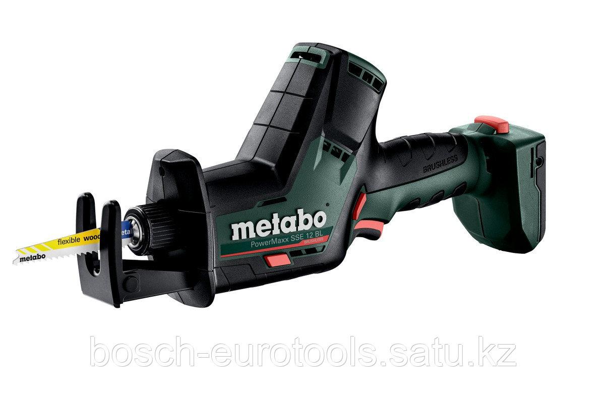 Metabo PowerMaxx SSE 12 BL Аккумуляторная сабельная пила (602322890)