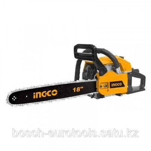 Цепная бензопила INGCO GCS45182