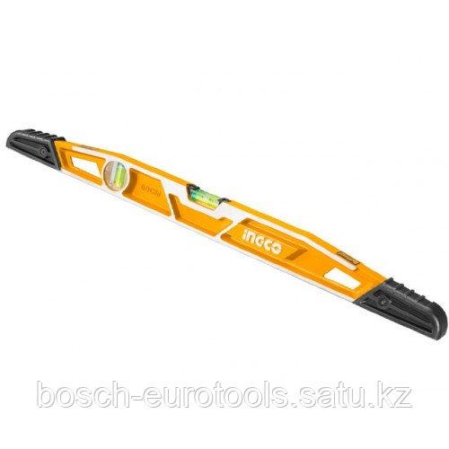 Уровень усиленный 60 см INGCO HBSL08060 INDUSTRIAL