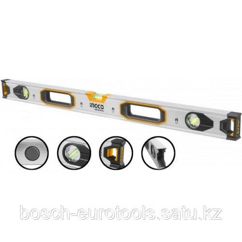 Строительный уровень магнитный 100 см INGCO HSL38100M INDUSTRIAL