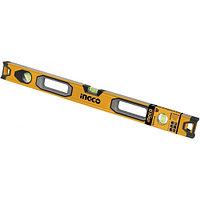 Строительный алюминиевый уровень 80 см INGCO HSL08080 INDUSTRIAL
