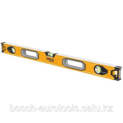 Строительный алюминиевый уровень 100 см INGCO HSL08100 INDUSTRIAL