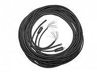 К-т соединительных кабелей 15 м для п/а КЕДР MULTIMIG-5000/5000P с жидкостным охл (КГ 1*95), шт