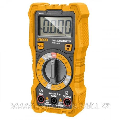 Мультиметр цифровой INGCO DM200