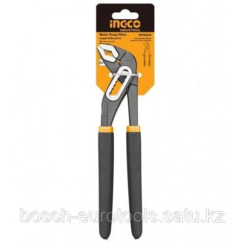 Универсальные переставные клещи 300 мм INGCO HPP03300 INDUSTRIAL