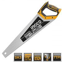Ножовка по дереву 450 мм INGCO HHAS28450 INDUSTRIAL