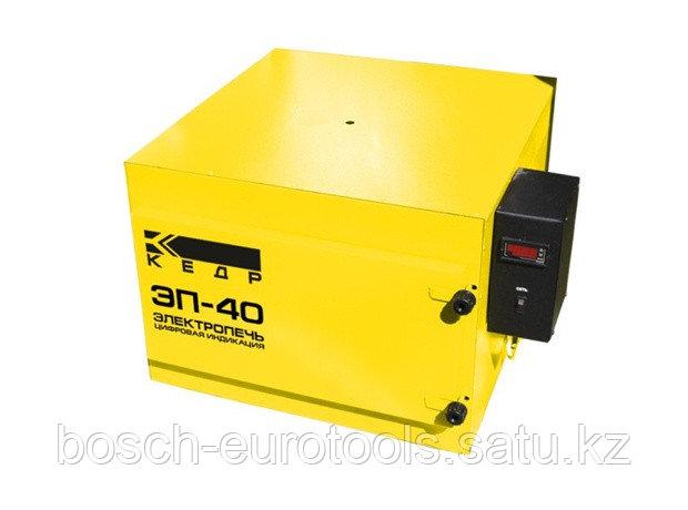 Электропечь КЕДР ЭП- 40 с цифровой индикацией (220В, 400°C, загрузка 40кг)