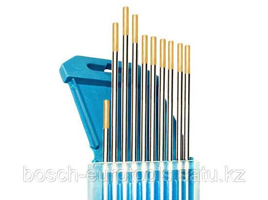 Электроды вольфрамовые КЕДР WL-15-175 Ø 2,0 мм (золотистый) AC/DC