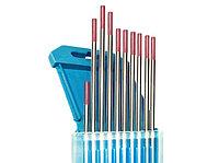 Электроды вольфрамовые КЕДР WT-20-175 Ø 3,0 мм (красный) DC