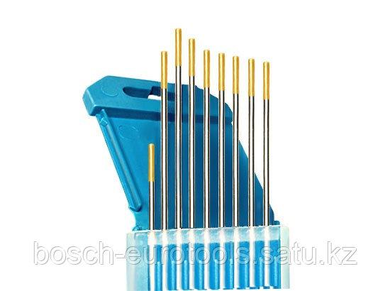 Электроды вольфрамовые КЕДР ВЛ-15-175 Ø 2,0 мм (золотистый) AC/DC