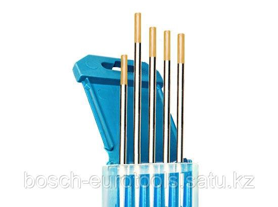 Электроды вольфрамовые КЕДР ВЛ-15-175 Ø 4,0 мм (золотистый) AC/DC
