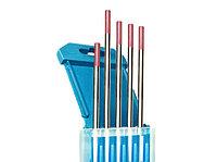 Электроды вольфрамовые КЕДР ВТ-20-175 Ø 4,0 мм (красный) DC