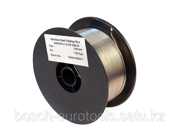 Проволока нержавеющая КЕДР MIG ER-308LSi Ø 0,8 мм (пластик кат. 1 кг)