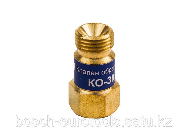 Клапан обратный КЕДР КО-3К (кислород), на вход резака /горелки, М16х1,5