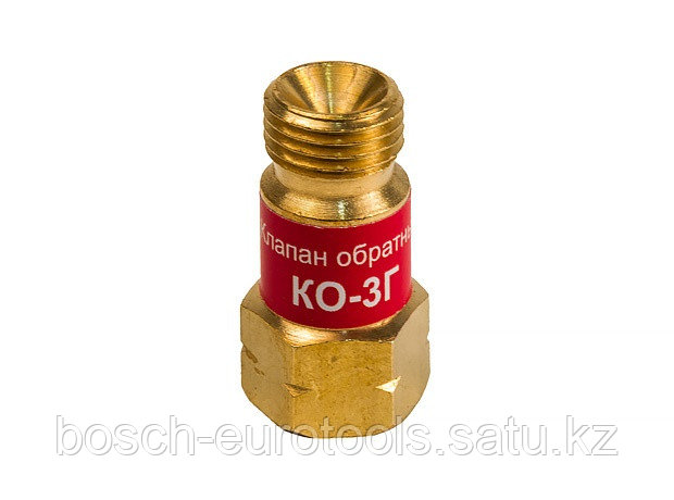 Клапан обратный КЕДР КО-3Г (пропан, ацетилен), на вход резака /горелки, М16х1,5LH левая резьба
