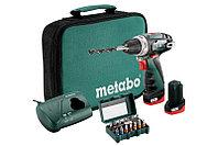 Metabo PowerMaxx BS Set Аккумуляторная дрель-шуруповерт