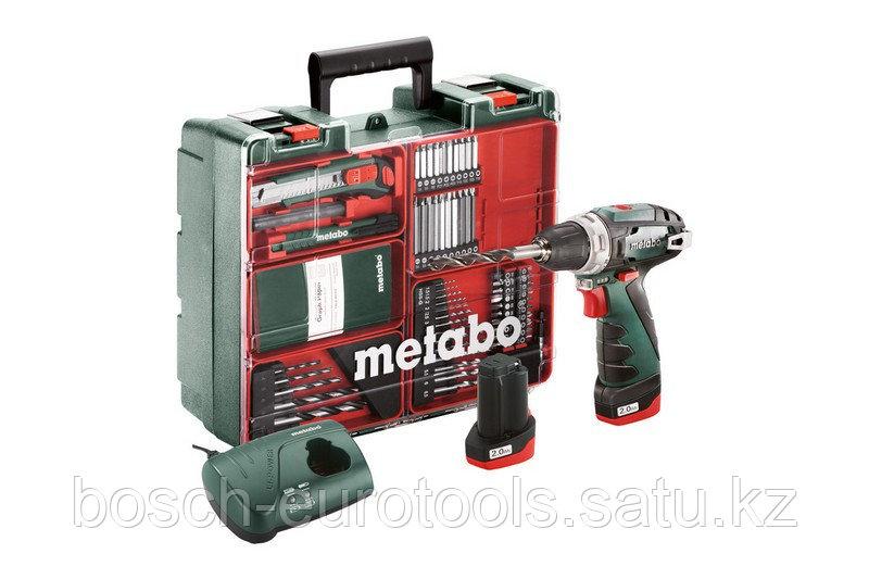 Metabo PowerMaxx BS Basic Set Аккумуляторная дрель-шуруповерт