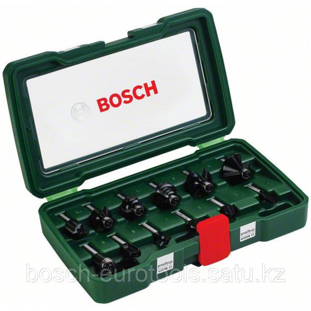 Набор фрез по дереву Bosch 12шт.. хвостовик 8мм