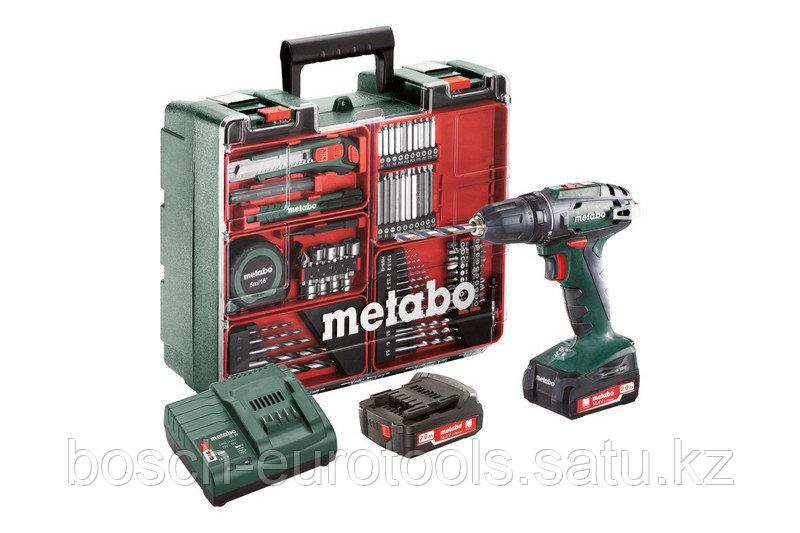 Metabo BS 14.4 Set Аккумуляторная дрель-шуруповерт