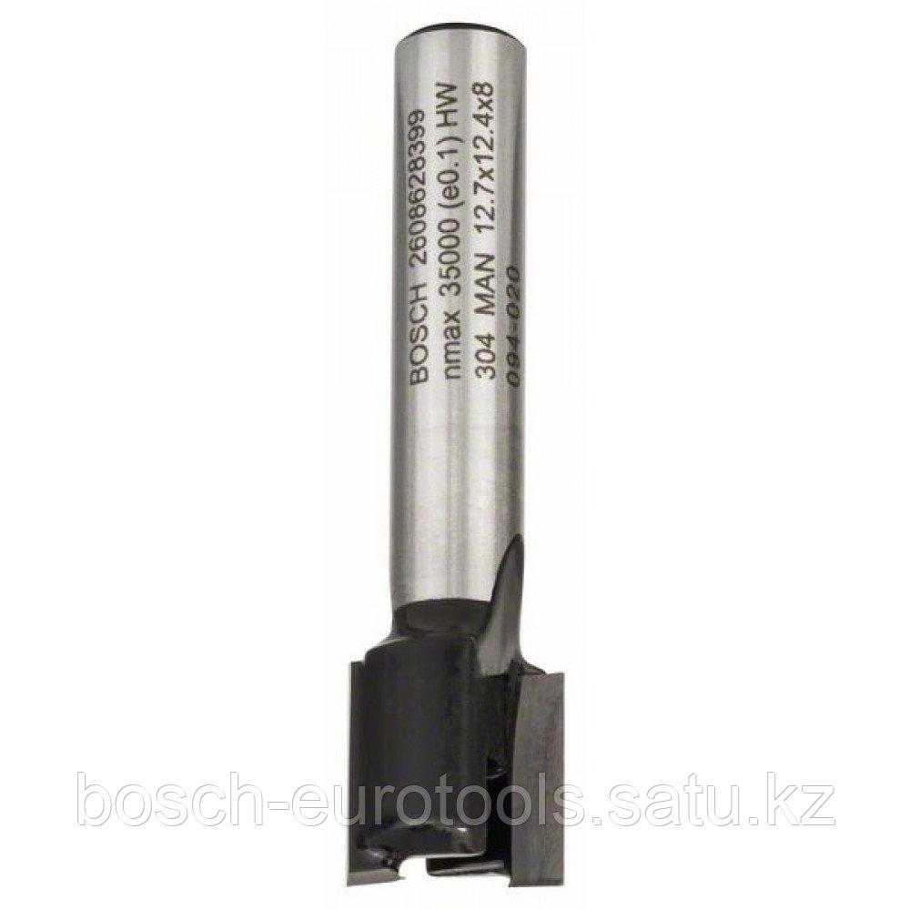 Пазовая фреза 8 mm. D1 12.7 mm. L 12.7 mm. G 50.8 mm