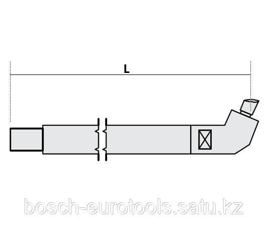 FUBAG Нижнее плечо наклонное O 22 х 300мм для серии SG 4-6