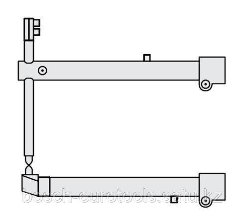 FUBAG Комплект плеч O 40 х 700мм прямые с уменьшенным электрододержателем для серии RS