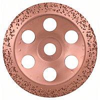 Твердосплавный чашечный шлифкруг 180 x 22.23 мм; крупнозерн.. скошен.