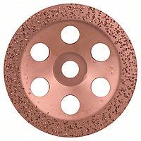 Твердосплавный чашечный шлифкруг 180 x 22.23 мм; крупнозерн.. плоск.