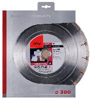FUBAG Алмазный отрезной диск GR-I D300 мм/ 30-25.4 мм по граниту