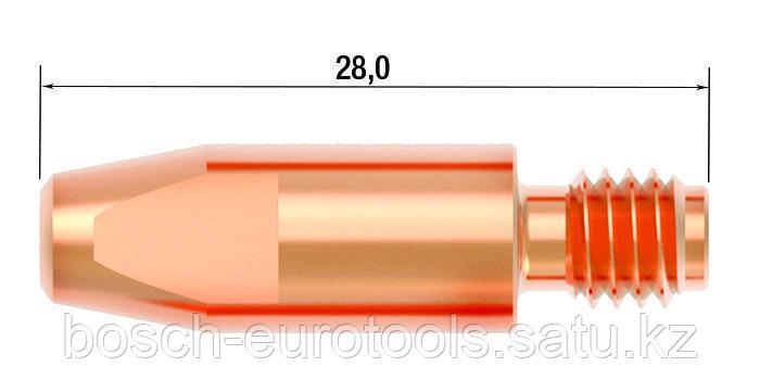 FUBAG Контактный наконечник M6х28 мм CuCrZr D=1.2 мм (25 шт.)