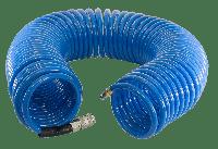 FUBAG Шланг спиральный с фитингами рапид, полиуретан, 15бар, 8x12мм, 20м