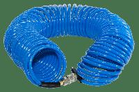 FUBAG Шланг спиральный с фитингами рапид, полиуретан, 15бар, 8x12мм, 15м