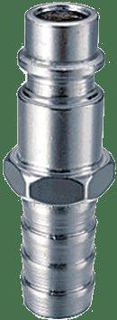 FUBAG Разъемное соединение рапид (штуцер), елочка 8мм с обжимным кольцом 8х13мм, блистер 1 шт