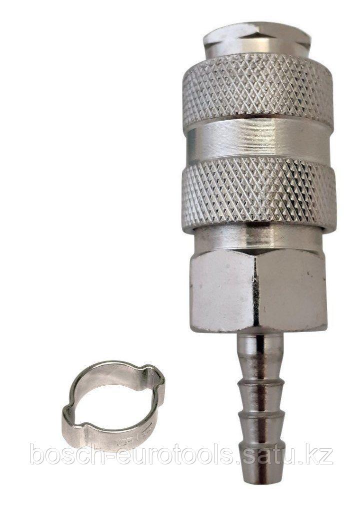 FUBAG Разъемное соединение рапид (муфта), елочка 6мм с обжимным кольцом 6х11мм