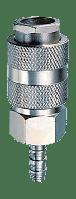 FUBAG Разъемное соединение рапид (муфта), елочка 10мм с обжимным кольцом 10х15мм, блистер 1 шт