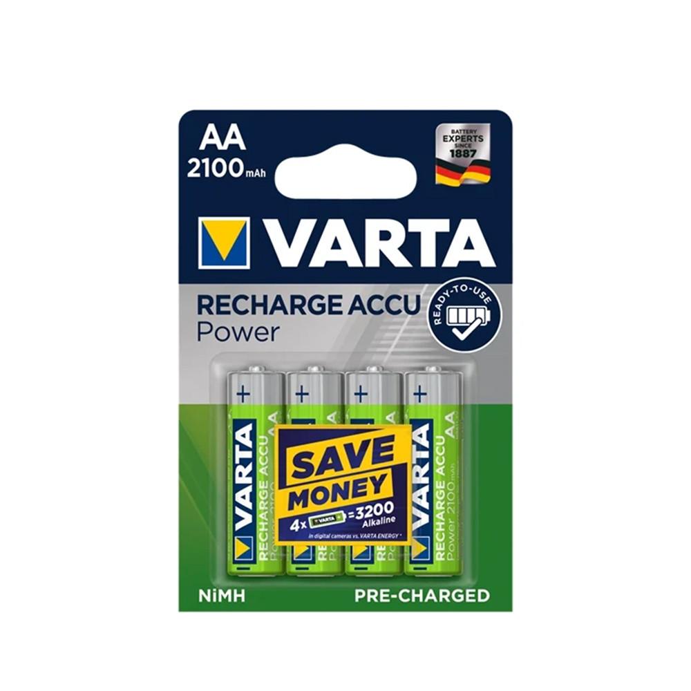 Аккумулятор Varta AA 4X2100 mAh штучно