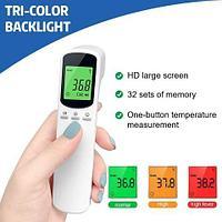Градусник-термометр лазерный бесконтактный KRK с трехцветным LCD-дисплеем