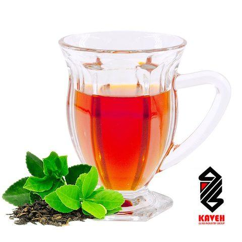 Набор стеклянных кружек для чая и кофе KAVEH ICE [6 шт.] - фото 1