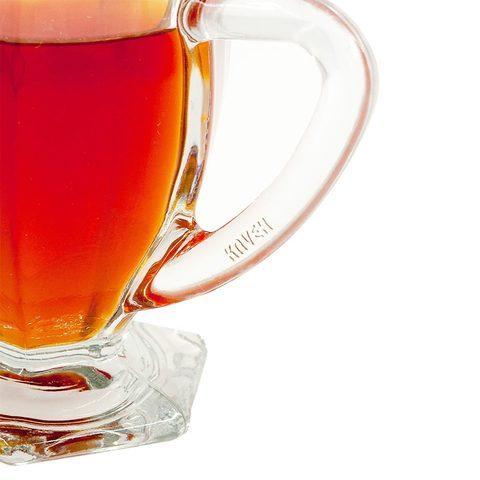 Набор стеклянных кружек для чая и кофе KAVEH ICE [6 шт.] - фото 2