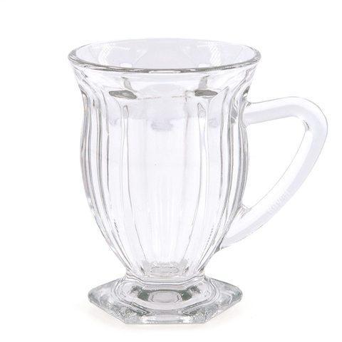 Набор стеклянных кружек для чая и кофе KAVEH ICE [6 шт.] - фото 3