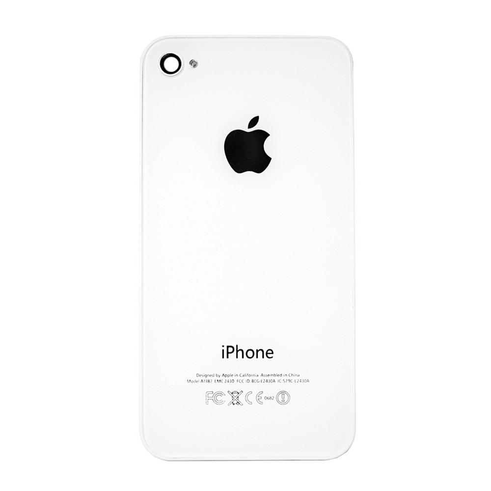 Задняя крышка Apple iPhone 4G White (69)