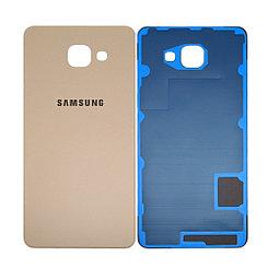 Задняя крышка Samsung Galaxy A7 (2016) A710 Gold (70)