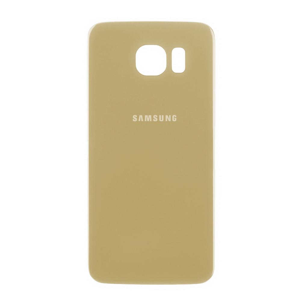Задняя крышка Samsung Galaxy S6 G920 Gold (71)