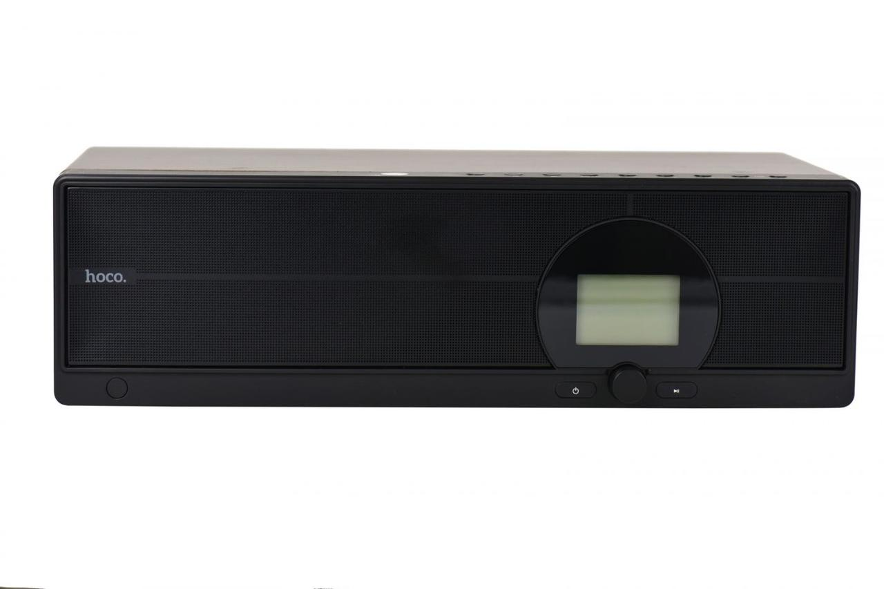 Портативная акустическая система Bluetooth Hoco BS13 Woodlen Brown/Black