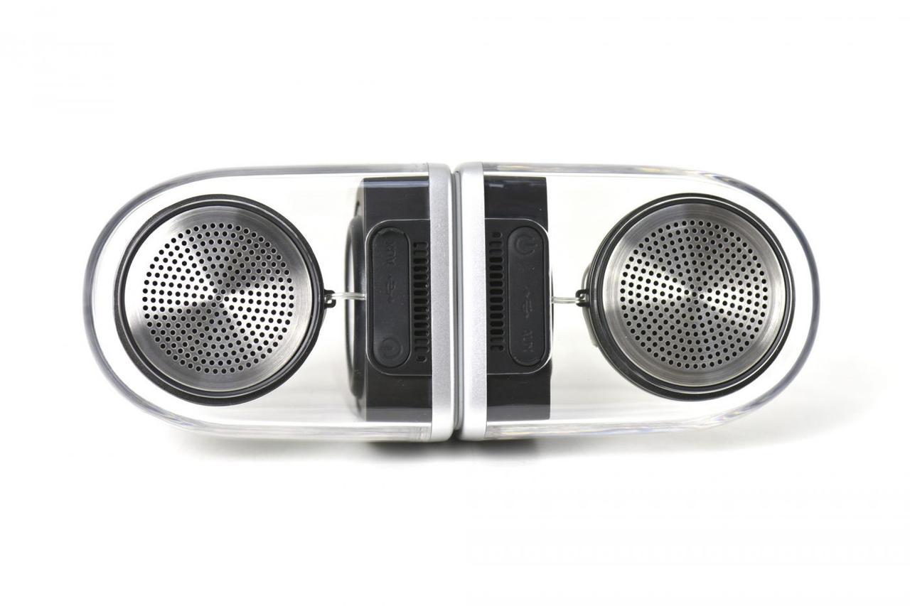 Портативная акустическая система Bluetooth Ovevo Tango D12 Silver