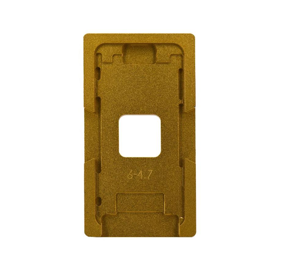 Рамка для центровки стекол iPhone 6G металлическая Gold