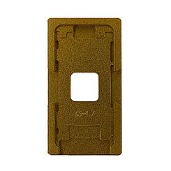 Рамка для центровки стекол iPhone 6S металлическая Gold